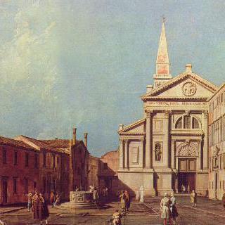 산 프란체스코 델라 비냐 교회와 광장