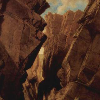 알제리에 있는 '철문' 통행로, 1839년 10월 18일