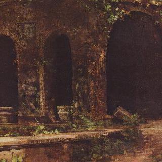 로마 근교의 빌라 데스테 정원에 있는 인공동굴
