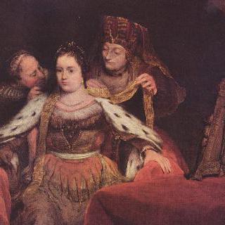 유대인 신부 (치장 받는 에스더)