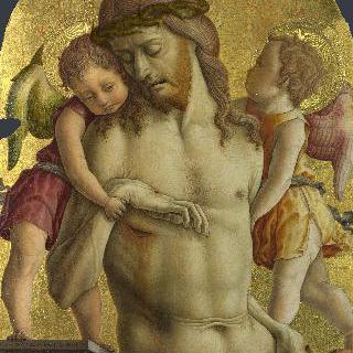 두 천사의 부축을 받는 죽은 그리스도
