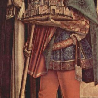 여러 폭 제단화, 오른쪽 패널 : 순교자 성 베드로와 카메리노의 성 베네티아누스
