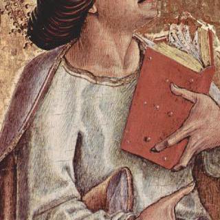 아스콜리의 성당 본제단 제단화, 폴립티크 (여러 폭으로 된 제단화), 제단대 : 사도