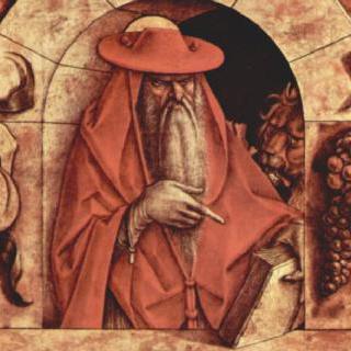 툴루즈의 성 루이, 성 히에로니무스, 성 베드로