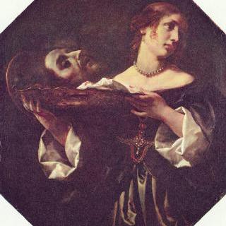 성 세례 요한의 머리를 들고 있는 살로메