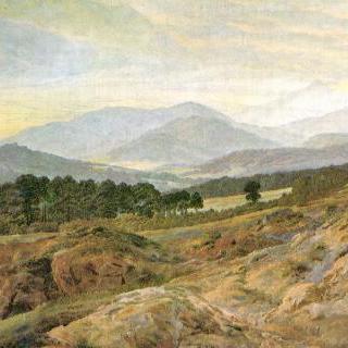 리젠게비르게 (리젠 산맥)의 풍경