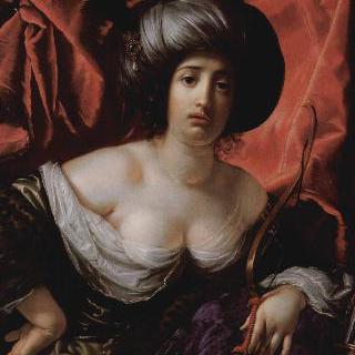 디아나의 모습으로 그린 어느 여인의 초상