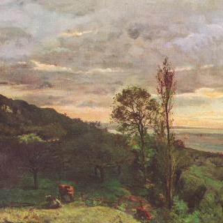 비예르빌 부근의 풍경
