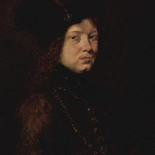 털모자를 쓴 젊은 남자의 초상