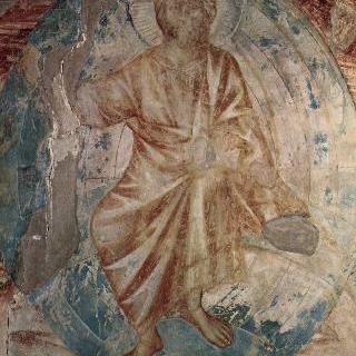 아시시의 산 프란체스코 성당 중 위쪽 교회에 있는 프레스코화 - 남쪽 익랑 : 요한계시록