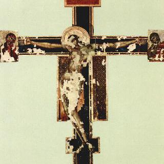 피렌체의 산타 크로체 성당에 있는 그리스도의 십자가상, 1966년 이후 상태
