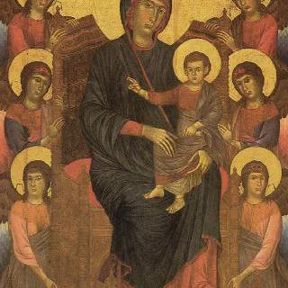 마리아와 천사들, 피사의 산 프란체스코 교회에 있던