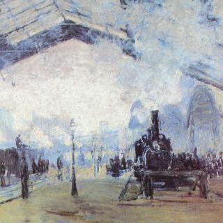 파리의 생 라자르 역
