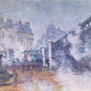 유럽의 다리, 파리의 생 라자르 역