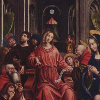 사원에 있는 열두 살의 예수