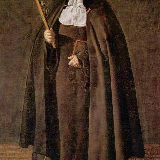 헤로니마 데 라 푸엔테 수녀의 초상