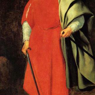 궁정 광대 바르바로사의 초상