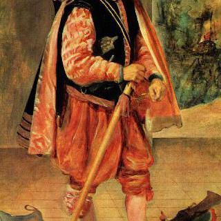 궁정 광대 돈 후안 데 아우스트리아의 초상