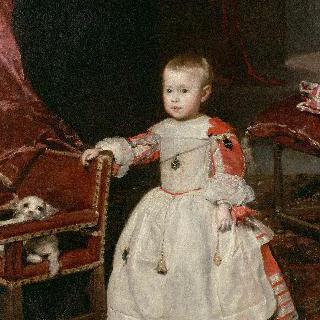 펠리페 프로스페로 왕자의 초상
