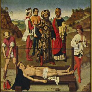 성 에라스무스의 순교, 여러 폭 제단화