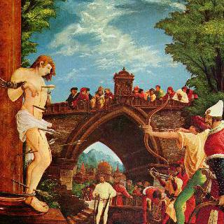 세바스찬제단화,성세바스찬의 순교