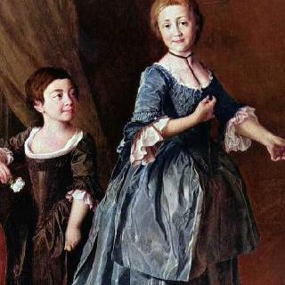 다비도바와 르제프스카야 공주들의 초상