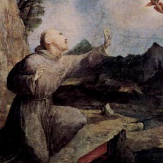 성흔을 받는 성 프란체스코