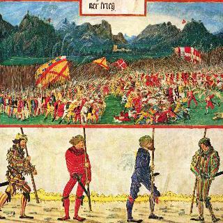 막시밀리안 황제의 개선행렬 : 스위스 전쟁