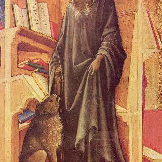 자신의 서재에 있는 성 히에로니무스