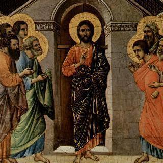 마에스타 : 닫힌 문가의 사도들에게 나타난 그리스도