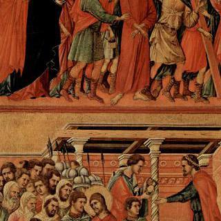 마에스타, 그리스도와 빌라도