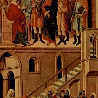 마에스타, 그리스도와 베드로