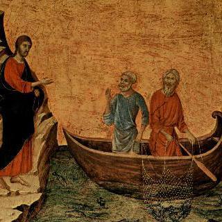 마에스타, 사도베드로와 안드레의 소명