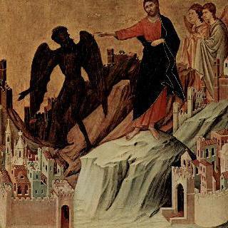 마에스타, 산 위에서의 그리스도 유혹