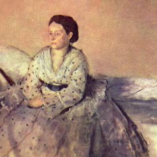 르네 드 가 부인의 초상