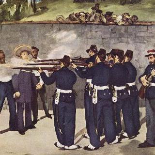 멕시코 황제 막시밀리안의 처형