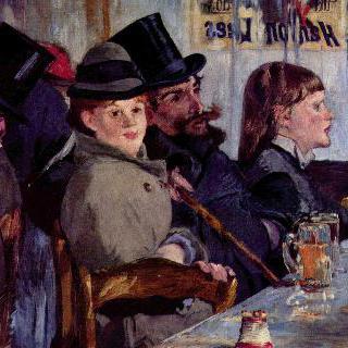카페에서 : 라이히스호펜의 카바레