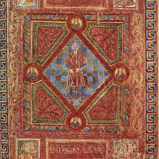 성 에머람의 코덱스 아우레우스 : 수도원장 람볼두스의 초상