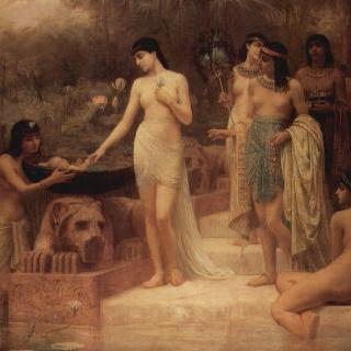파라오의 딸 - 모세의 발견