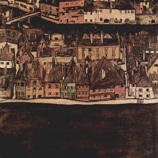 소도시 II (몰다우 강변의 크루마우의 풍경)