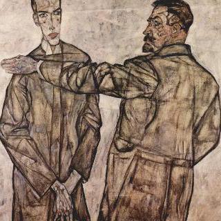 하인리히 베네슈와 그의 아들 오토의 2인 초상