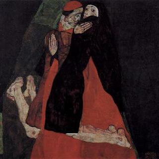 추기경과 수녀, 또는 애무