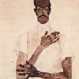에르빈 폰 그라프의 초상