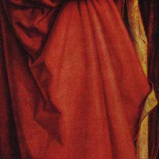 네 사도, 왼쪽 부분 : 성 요한과 베드로