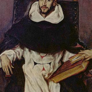 수도사 오르텐시오 펠릭스 파라비시노의 초상
