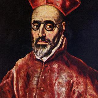 종교재판관 돈 페르난도 니뇨 데 게바라 추기경의 초상