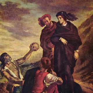 묘지에 있는 햄릿과 호라티오
