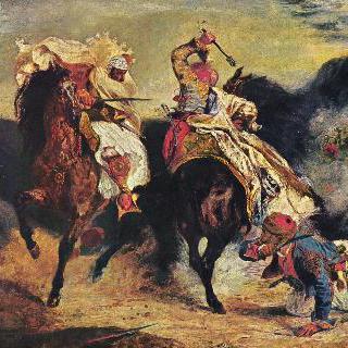 파샤와 비회교도의 싸움