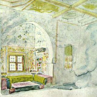 메크네스에 있는 술탄 왕궁의 벽감실