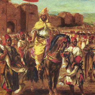 모로코 술탄의 초상